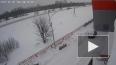 Камера видео наблюдения сняла ужасное ДТП в Уфе