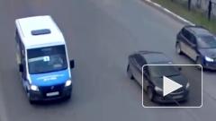 В Рязане легковушка сбила мотоциклиста