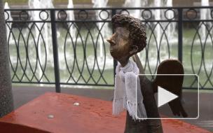 Как выглядит Любашинский ангел, вернувшийся в беседку на фонтане