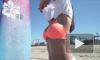 Звезда фитнеса пошалила у моря (видео)