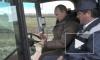 Как Путин и Медведев больше 10 тонн кукурузы смолотили