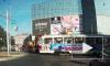 Ужасающее видео из Самары: экскаватор протаранил трамвай