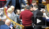 Появилось видео жесткой драки депутатов в Верховной раде