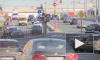 Каникулы в Петербурге закончились и снова начались пробки