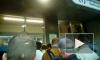 На «Электросиле» очередь на вход из-за тотального досмотра пассажиров