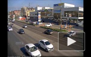 ДТП на ул. Красных Партизан и ул. Баумана.