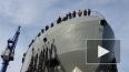 """Ледовый корабль """"Иван Папанин"""" спустили на воду: взгляд ..."""