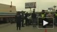 Страшное видео из Рязани: трассу не поделили две легкову...