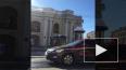 Видео: на Невcком столкнулись две легковушки