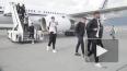 Сборная Великобритании по футболу прилетела в Петербург