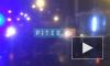 Страшное ДТПна съезде с моста Бетанкура: машина перевернулась и загорелась