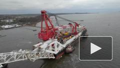 """Строительство """"Северного потока - 2"""" в Дании планируется завершить до конца апреля"""