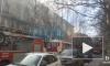 Видео: на Сестрорецкой улице загорелось общежитие