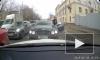 Видео из Москвы: Bentlеу нагло объезжает пробку по встречке