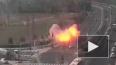 Опубликовано видео взрыва ракеты на шоссе в Израиле, ...