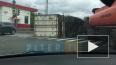 ДТП с перевернутой фурой осложнило движение на Стачек