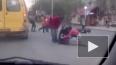 Жесткое видео из Пензы: трассу не поделили легковушка ...