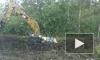 В болотах Левашово экскаватор утонул вместе с шофером