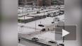 Петербуржцы сняли на видео погоню полицейских за каршери...