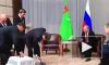 Путину президент Туркменистана подарил щенка породы алабай