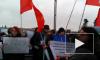 В Петербург на митинг в защиту науки приехала Ксения Собчак