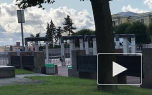 На площади Ленина состоялся митинг по итогам петербургских выборов