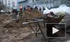 """Общественники: исчезающую плитку у метро """"Приморская"""" уложили еще и на частной территории"""