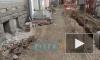 Видео: продолжаются ремонтные работы на проспекте Добролюбова