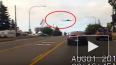 Видео из США: Самолет совершил экстренную посадку ...