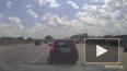 Видео: в Бердске сбили дорожного рабочего
