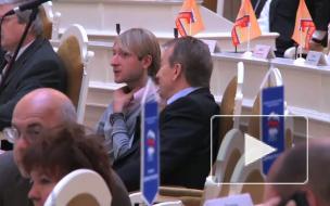 Явление Плющенко народу. Редкий гость в Законодательном собрании