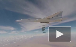 Бомбардировщики Ту-22М3 ВКС РФ нанесли авиаудар по боевикам в Сирии