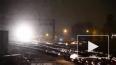 Огненное видео из США: В Чикаго полыхают рельсы