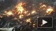 Первые фотографии места трагедии рухнувшего самолёта ...