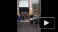 """Появилось видео эвакуации людей из бизнес-центра """"Преобр..."""