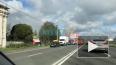 Видео: на Митрофаньевском шоссе полыхает склад с текстил...