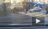 Жуткое видео из Калининграда: иномарка на пешеходном переходе сбила женщину с ребенком