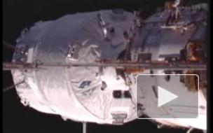 """Европейский корабль """"Эдоардо Амальди"""" пристыковался к МКС"""