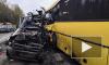Под Тверью в ДТП автобуса и маршрутки погибли 13 человек