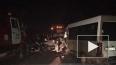 Под Курском в ДТП с микроавтобусом и легковушкой погибли...