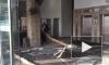 В БЦ на Петроградской набережной на женщину упал потолок
