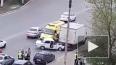 Жесткое видео из Астрахани: легковушка протаранила ...