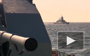 Военные России и Сирии начали совместные учения в Средиземном море