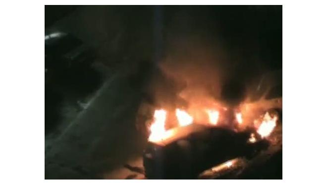 Ночью в Москве сгорели три автомобиля с кавказскими номерами