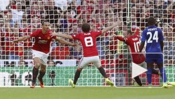 «Манчестер Юнайтед» выиграл Суперкубок Англии