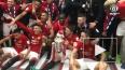 """""""Манчестер Юнайтед"""" празднуют свою первую победу в Лиге ..."""