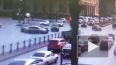 Появилось видео с моментом массового ДТП на площади ...