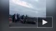 Жесткое видео из Бурятии: мотоцикл протаранил легковушку