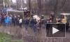 В Киеве взорвалась остановка общественного транспорта: территория оцеплена, лежат осколки