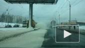 Передвижной фонтан... снега